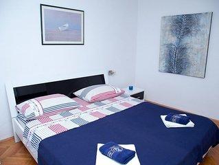 Apartment between Split and Trogir with beautifull garden