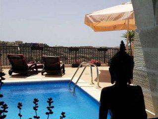 Luxury villa unobstructed views