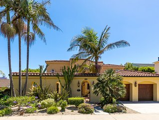 20% OFF APR - Spanish Style Beauty, Ocean Views, Walk to Shops & More
