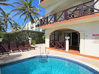 Oceanfront 1-bed Apt with Pool near Surfing - Rosalie #2