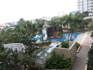 Apartment for Rent: Metropark Residence, 2BR, Fully Furnished, Beach concept