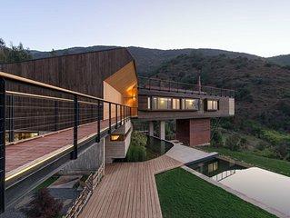 Increíble casa de montaña, Casa el Maqui