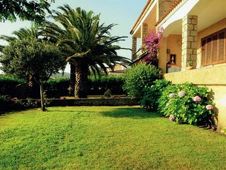 Apartment in villa 100 meters from the beach