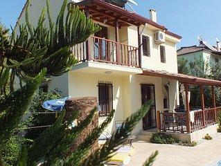 Quiet Villa Wıth Prıvate large Pool big garden  tv unlimetid secure wifi