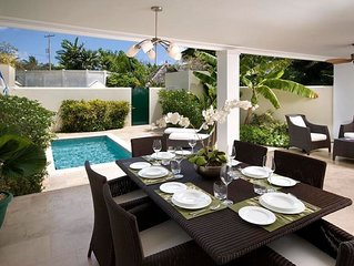 PANDORA VILLA BARBADOS - Private pool with Sea views & 1 minute walk to Mullins