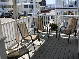 See the Ocean from your porch, steps to the beach, and playground