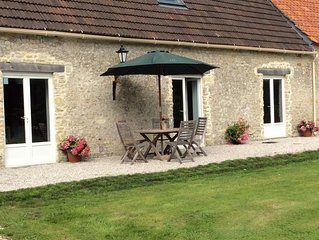 Beautiful 18th Century barn conversion in the heart of the DDay landings region.