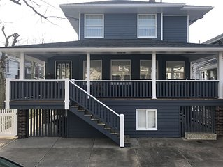 Beautiful Jersey Shore Home / large yard 2 Blocks from Beach, Available for July