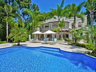 SANDALO VILLA BARBADOS -  Beach Front Gibbs Beach - Luxury 5 Bedroom Villa
