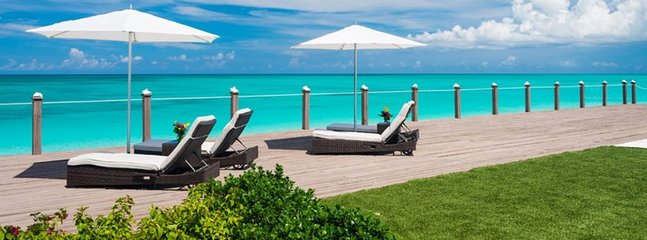 Villa Sunsara -  Beach Front - Located in  Fabulous Grace Bay with Private Pool