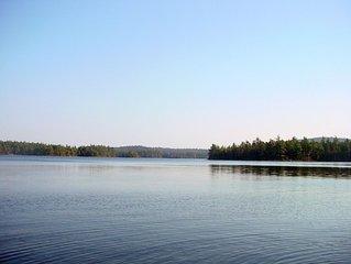Directly on Lake, Peaceful, Pet Friendly Getaway!