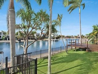 The Palms Mooloolaba Water front home
