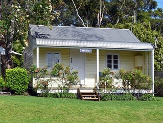 Minke Historic Whalers Cottage at Hyams Beach - The Whitest sand in the World!