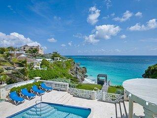 Windermere Villa Oceanfront Beauty Barbados