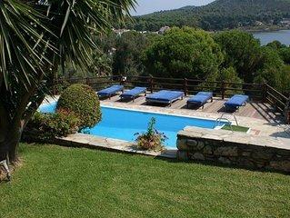 Luxury Villa in Koukounaries