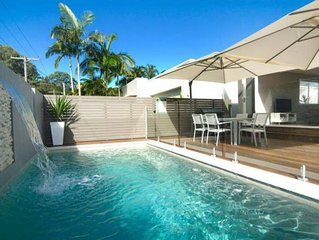 Fabulous private pool and deck