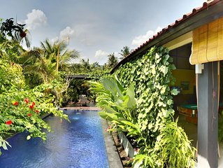 A charming Two Bedroom Villa in heart of Lovina, with quite and peaceful area.