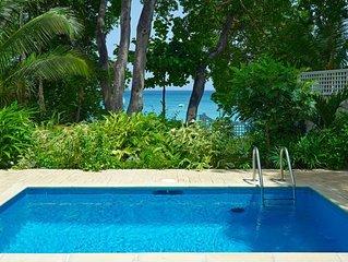 LATITUDE VILLA BARBADOS - Luxury 4 Bedroom Beach Front Villa Located on Gibbs Be