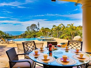Elegant Gated Home w/ Pool, Jacuzzi & Stunning Sunset Views!