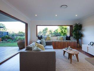 Green House - Modern Beachfront Pet Friendly Home
