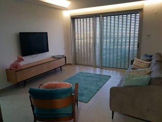 Apartment 'Sea&Sky' akko 200 meters from the beach