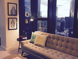 Stylish 2BR Apartment * Collins Street Melbourne