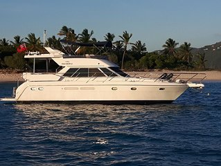 48' Motor Yacht located In The British Virgin Islands.