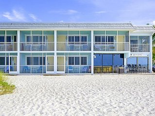 Quiet Oceanfront Resort located on Anna Maria Island April 4-11, 2020
