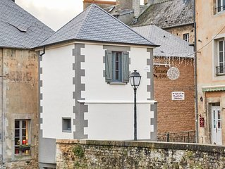The smallest house in France  was also the house of the water lock keeper!
