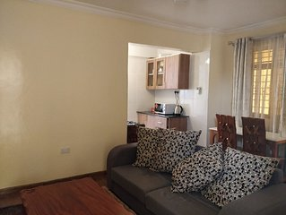 Entire 1 bedroom apartment in Kileleshwa.