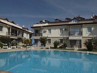 Fethiye, calis, 2 floor apartment, 130 m2
