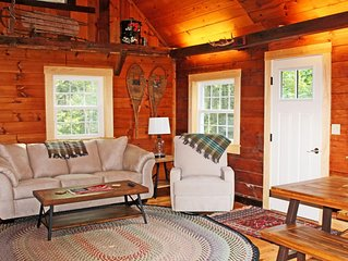 Spectacular Boothbay Harbor Cabin, Outdoor Shower, Beach & Dock Access, Mooring