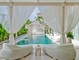 Serene White Washed Villa, Canggu, Bali