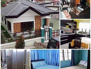 2 Bedroom, 1 Private Bathroom and 1 Common Bathroom with Equipped Kitchen & Wifi