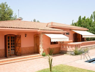 Villa La Rose Casablanca, calm nature getaway on the Bouskoura Forest