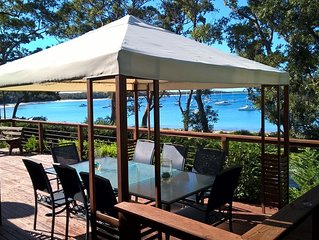 Breath Taking Jervis Bay Views, 4pm weekend check out, true beachfront