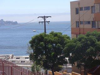 Valparaiso ,Cerro Baron Departamento 2 dormitorios