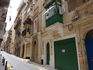 A Beautifully Restored Traditional Townhouse with Maltese Balcony