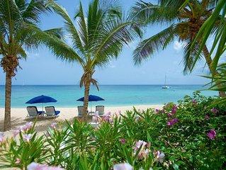 Paynes Bay View Villa - Luxury 3 bedroom beach front Villa on Paynes Bay Beach