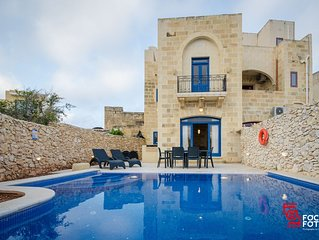 Andrea Holiday home with private pool, tranquillity and relaxing moments: Gozo