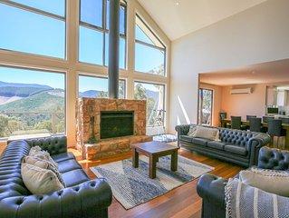 Kangaroo Lodge : Grand luxury with a view