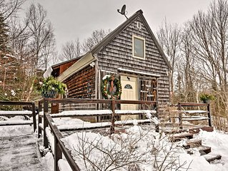 Searsport Cabin w/Screened Porch - Mins from Ocean