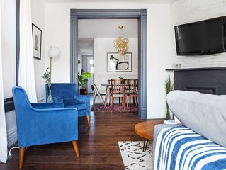 Vintage Townhome with Two Private Suites - Perfect for Couples