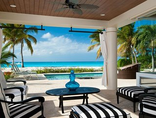 Villa Del Sol and stunning Grace Bay Beach