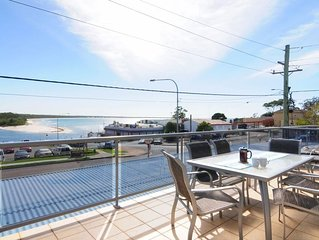 Jervis Bay Vista with fabulous water views, whale watching, beaches, & cafes