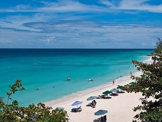 Sapphire Beach 509 is a lovely beach front penthouse apartment on Dover Beach in