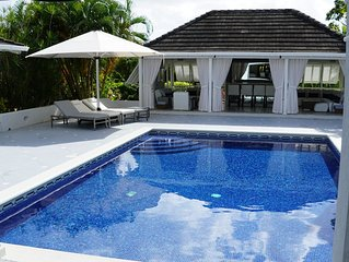 Luxurious 5 bedroom villa at exclusive Sandy Lane resort