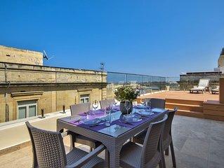 Grand Harbor Valletta Seaviews Penthouse