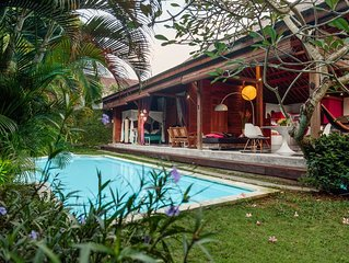 Family Fave Wooden House 2BR 5min Seminyak