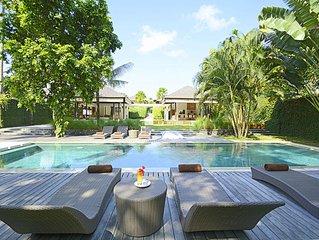 5BR Canggu Luxury Villa Near Echo Beach!